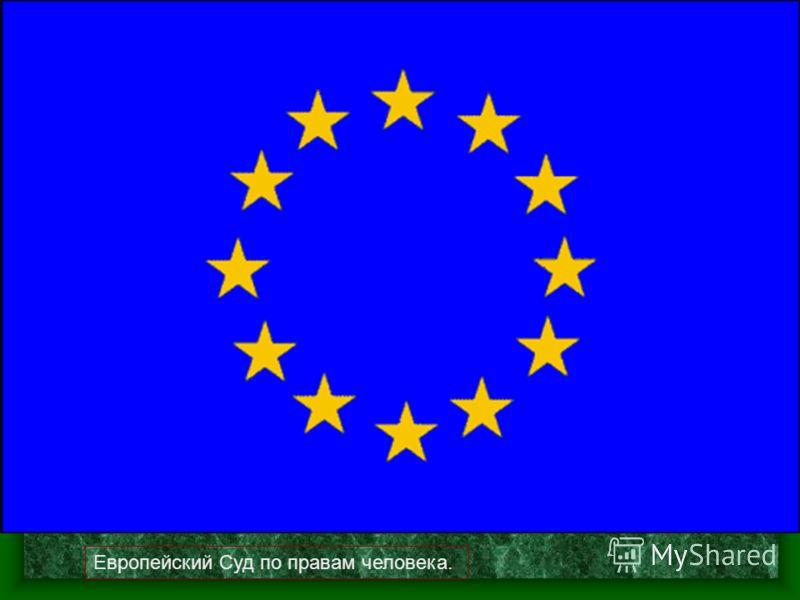 Европейский Суд по правам человека.