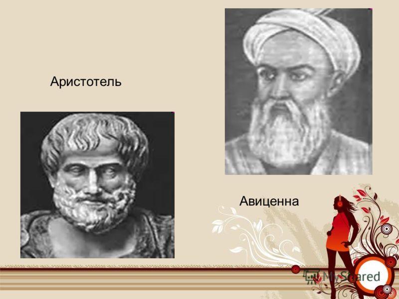 Аристотель Авиценна