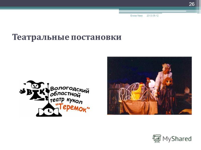 2013-05-12 Елиза Маек 26 Театральные постановки