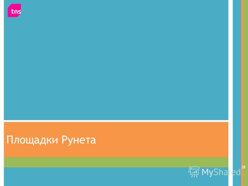 Площадки Рунета 28