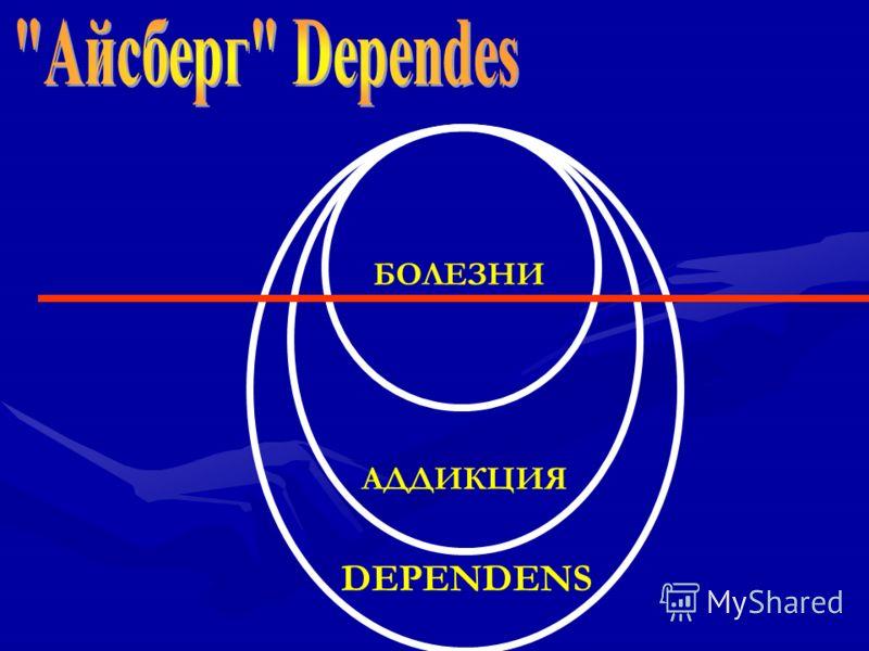 DEPENDENS АДДИКЦИЯ БОЛЕЗНИ