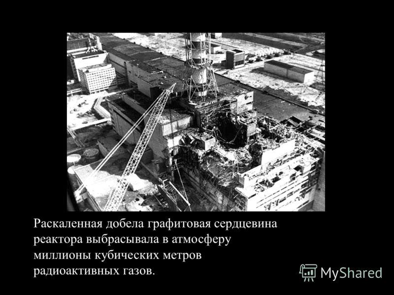 Раскаленная добела графитовая сердцевина реактора выбрасывала в атмосферу миллионы кубических метров радиоактивных газов.