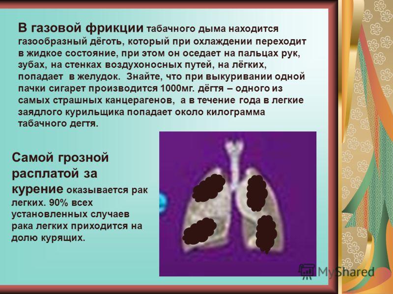 Курильщики ежегодно выкуривают, т. е. выбрасывают в атмосферу: 70 тонн синильной кислоты 384 тысячи тонн аммиака, 108 тысяч тонн никотина 60 тысяч тонн дёгтя 550 тысяч тонн угарного газа Более 3 млн. тонн окурков оставляют курильщики на земле ежегодн