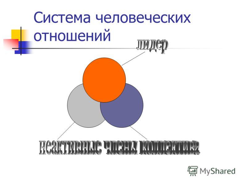 Система человеческих отношений