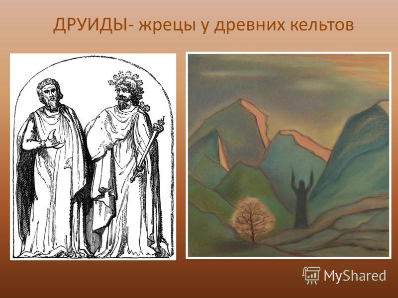 ДРУИДЫ- жрецы у древних кельтов