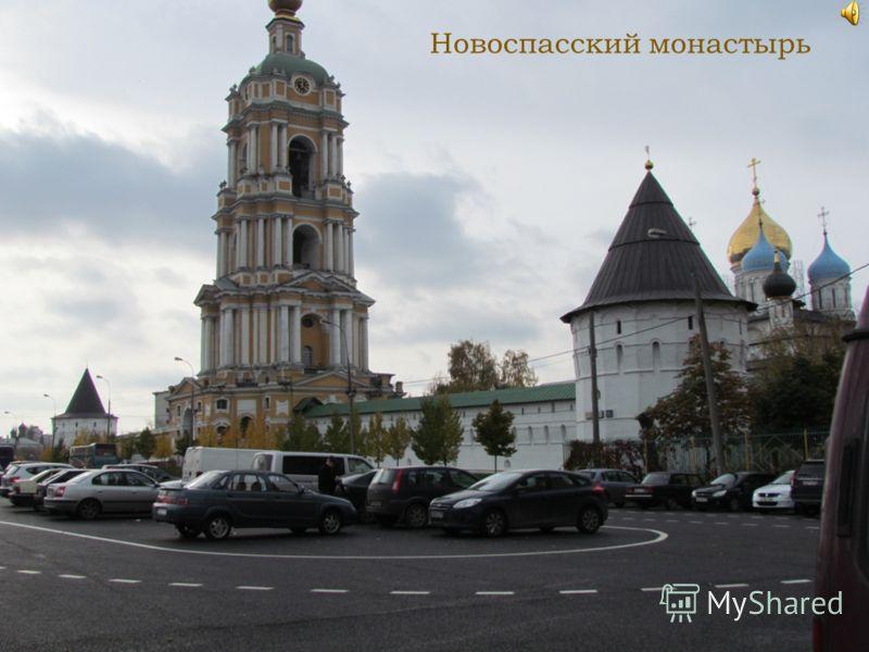 Крестьянская застава 2012год. Новоспасский монастырь