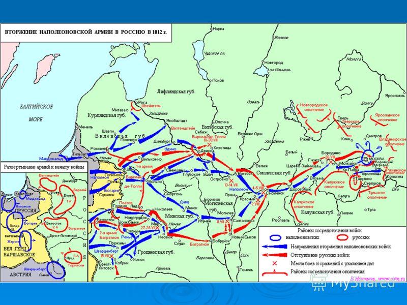 «Если я возьму Киев – я возьму Россию за ноги; если я возьму Петербург – я возьму Россию за голову; если я возьму Москву- я поражу её в самое сердце» (Наполеон)