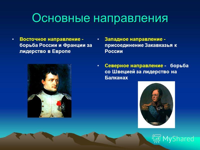 Внешняя политика России при Александре I