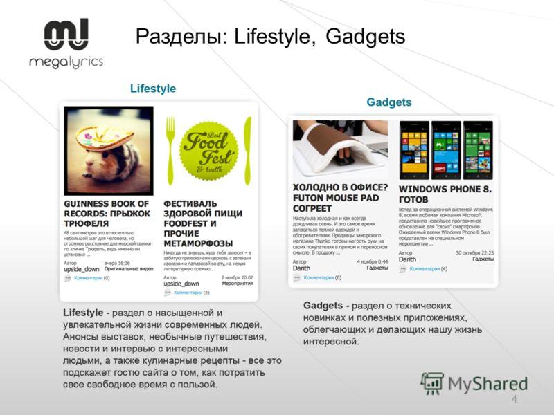 Разделы: Lifestyle, Gadgets