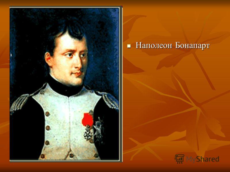 Наполеон Бонапарт Наполеон Бонапарт