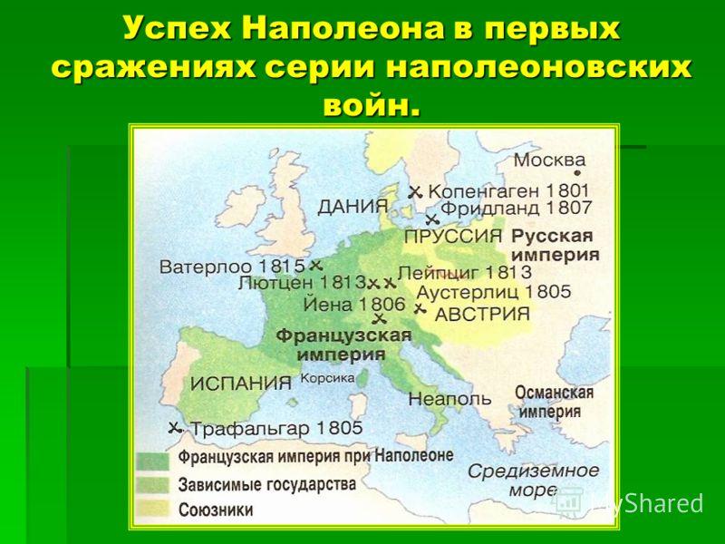 1812 г. – Наполеон с огромной армией вторгается в Россию и доходит до Москвы. 1812 г. – Наполеон с огромной армией вторгается в Россию и доходит до Москвы. 1813 г. – Наполеон терпит поражение в битве при Лейпциге. 1813 г. – Наполеон терпит поражение