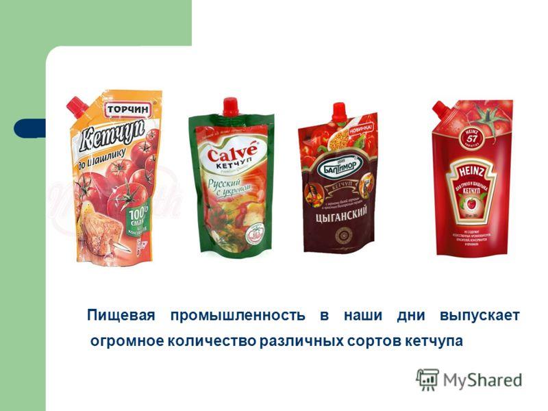 Пищевая промышленность в наши дни выпускает огромное количество различных сортов кетчупа
