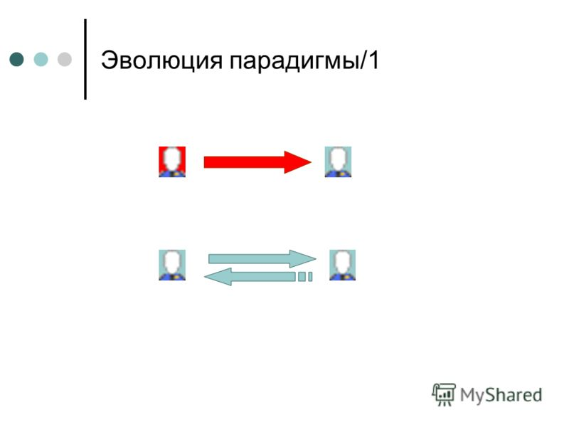 Эволюция парадигмы/1
