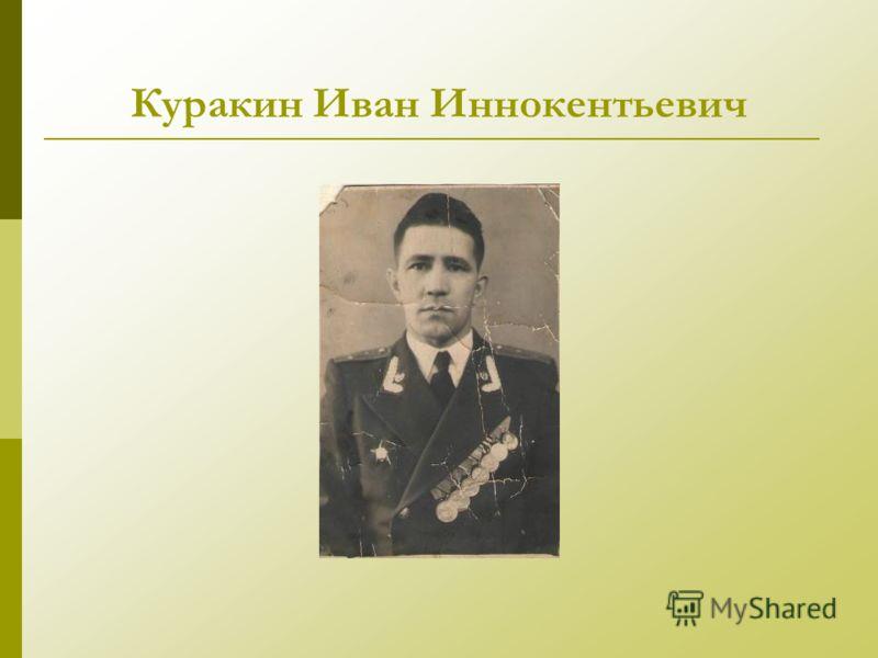 Куракин Иван Иннокентьевич