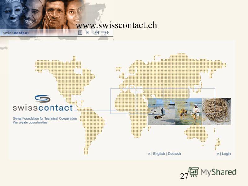 27 www.swisscontact.ch