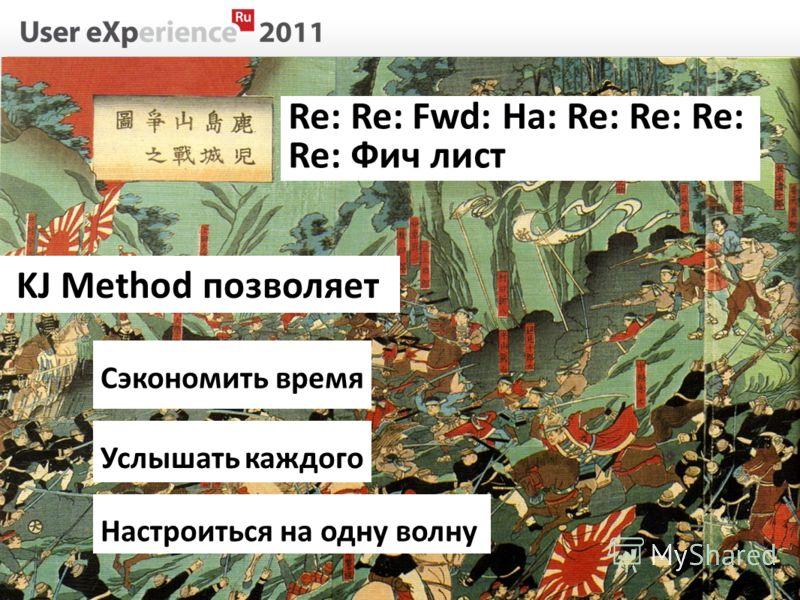 Re: Re: Fwd: Ha: Re: Re: Re: Re: Фич лист KJ Method позволяет Услышать каждого Сэкономить время Настроиться на одну волну