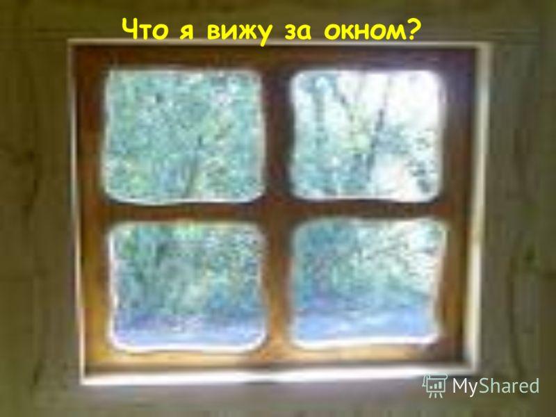 Что я вижу за окном?