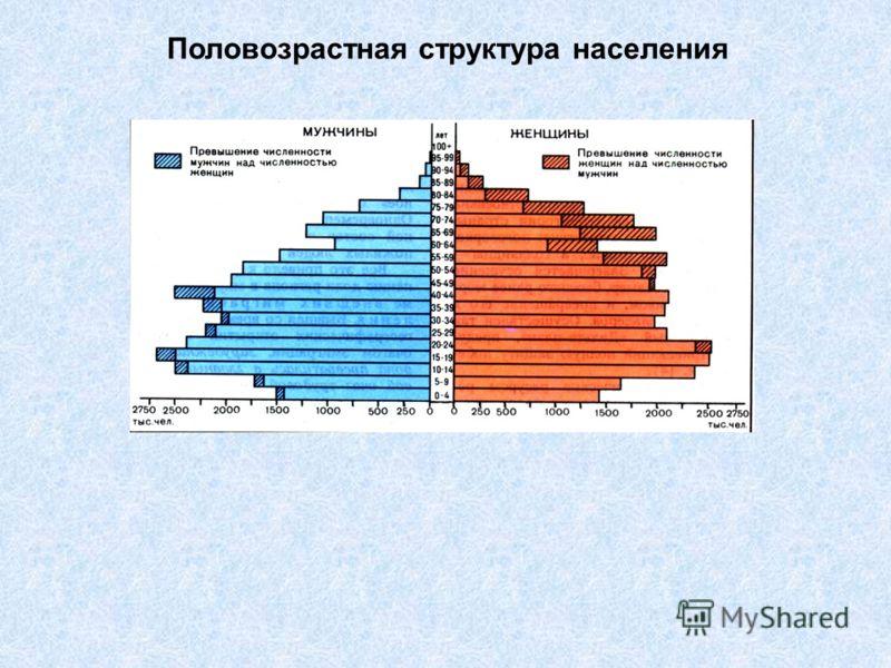 Половозрастная структура населения