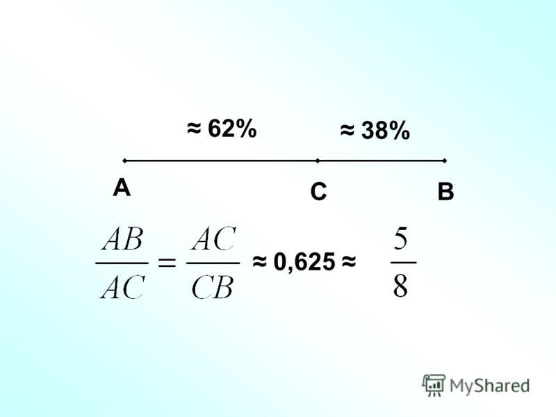 А СВ 62% 38% 0,625
