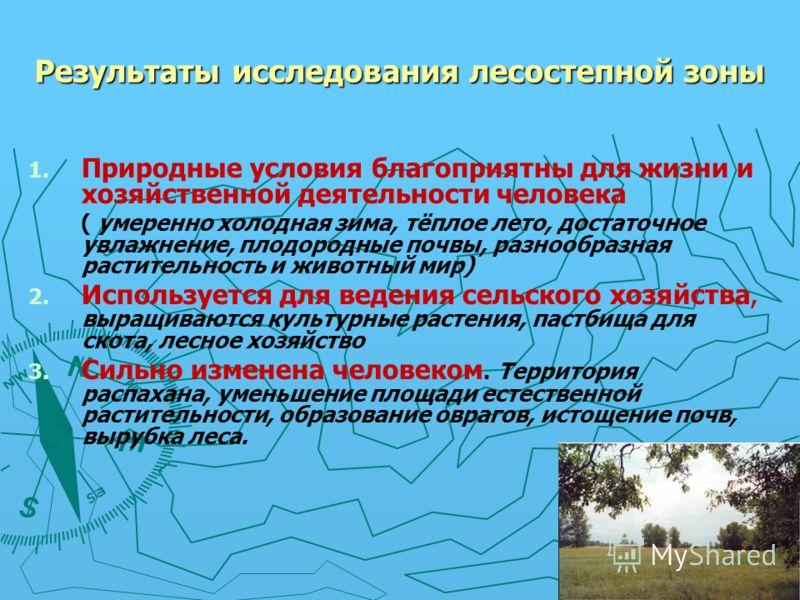 Природныекомпоненты Особенности природной зоны Влияние природы на жизнь и хозяйственную деятельность Влияние человека на Влияние человека на природу, природу, экологические экологические проблемы проблемы Рельеф 1.Территория 1.Территория распахана ра