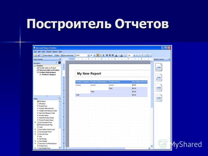 Построитель Отчетов