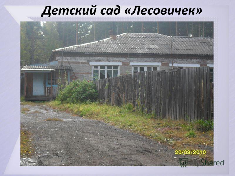 Детский сад «Лесовичек»