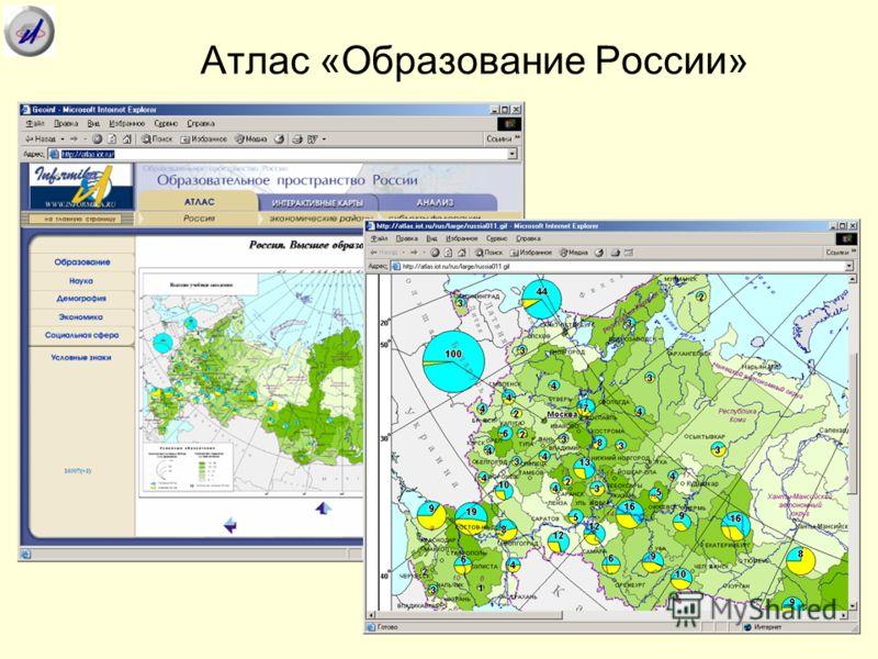 Атлас «Образование России»