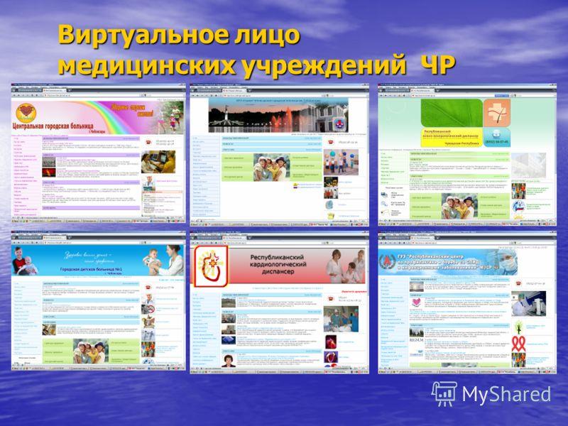 Виртуальное лицо медицинских учреждений ЧР