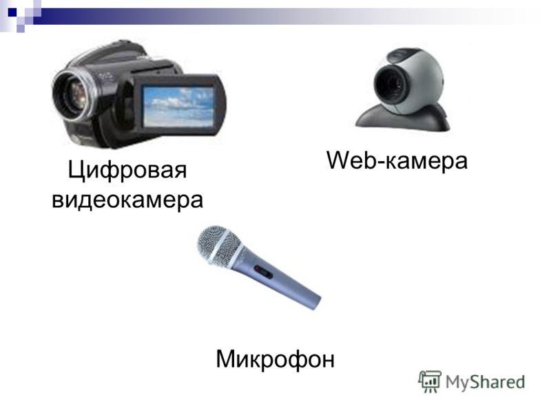 Цифровая видеокамера Web-камера Микрофон