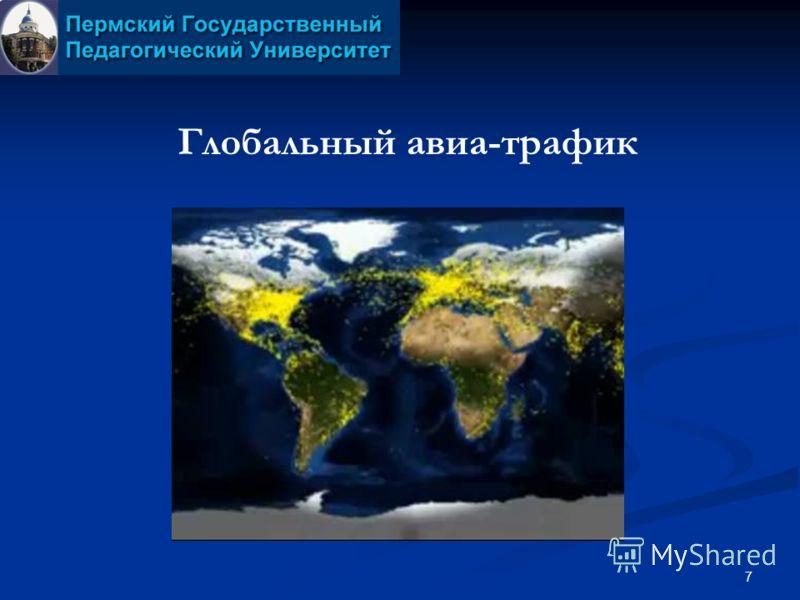 7 Глобальный авиа-трафик