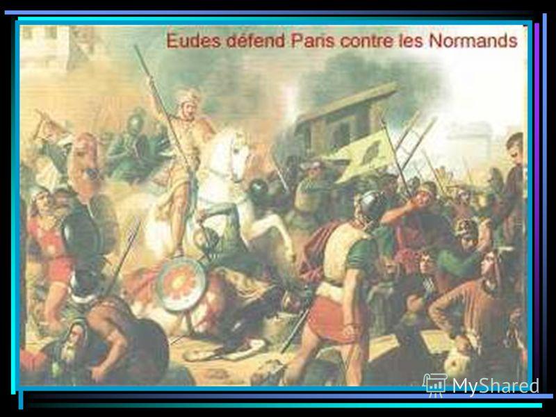Во Франции сопротивление норманнам возглавил граф Эд Парижский. Он нанёс им ряд поражений и даже провозгласил себя королём, но затем уступил власть Карлу Простоватому, который отдал викингам территорию будущей Нормандии