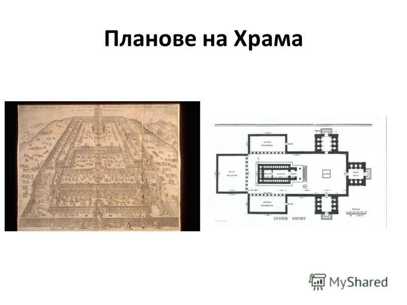 Планове на Храма