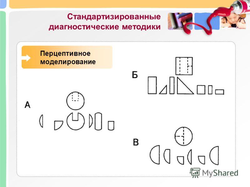 Стандартизированные диагностические методики Перцептивное моделирование