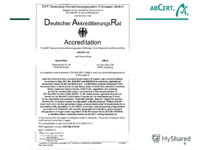 Alexander Lysenkov - ABCERT AG – Martinstr. 42-44 – D - 73728 Esslingen – Tel. +49 (0)711/35 17 92-0 4