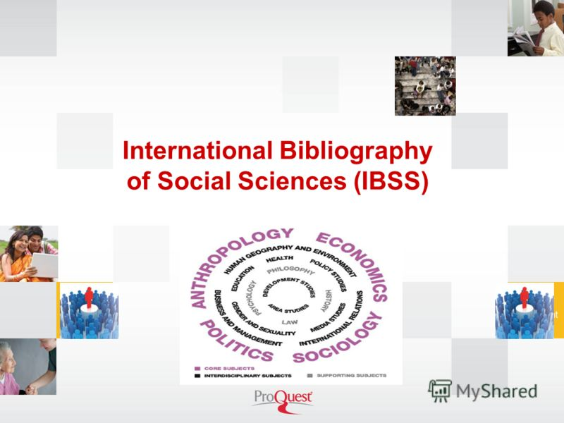 International Bibliography of Social Sciences (IBSS)