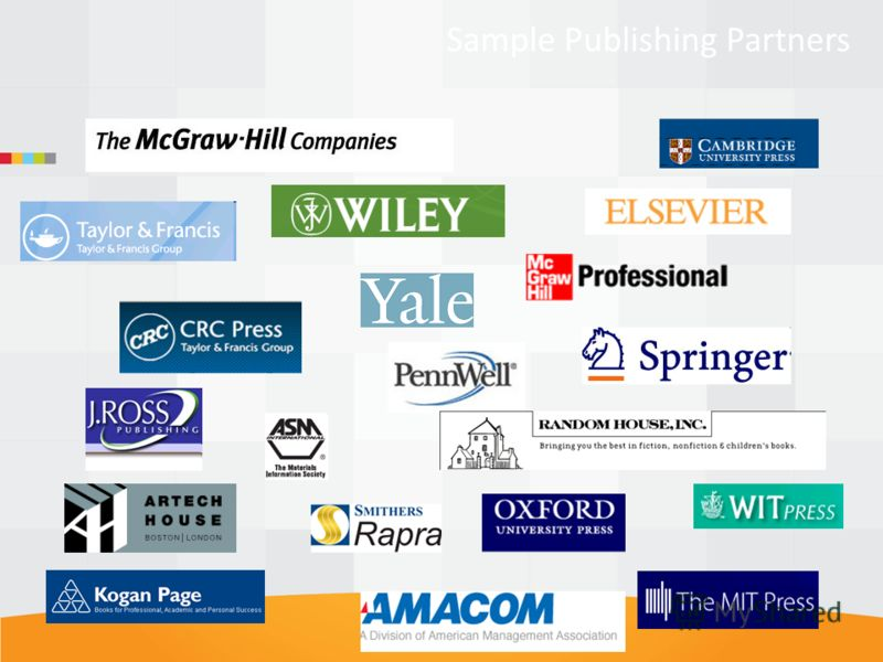 Sample Publishing Partners