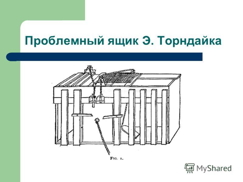 Проблемный ящик Э. Торндайка