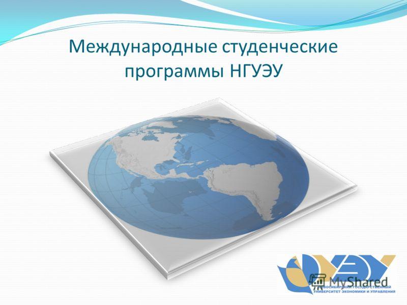 Международные студенческие программы НГУЭУ