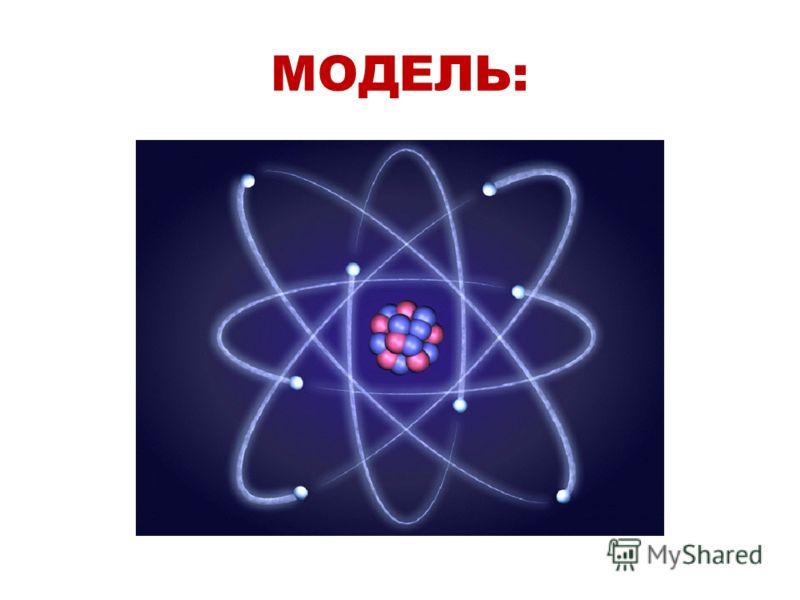 МОДЕЛЬ: