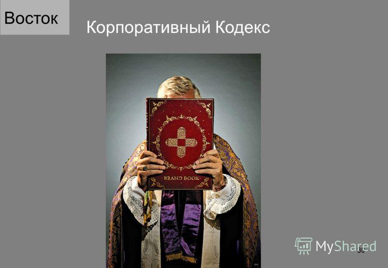 Корпоративный Кодекс Восток 30