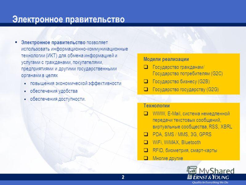 1 Обзор Электронное правительство Вызовы и ожидания Управление информационными рисками Полученные уроки