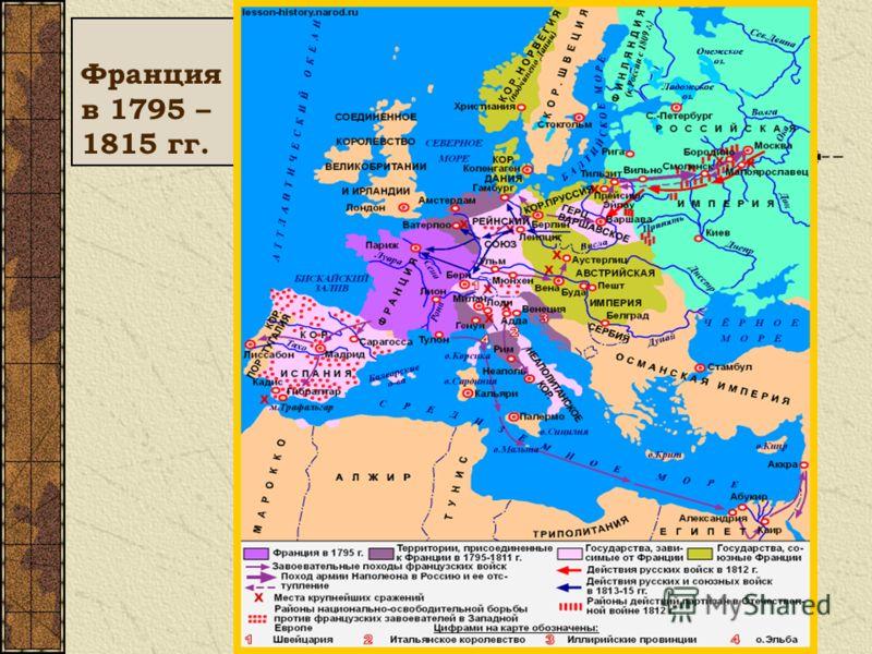 Франция в 1795 – 1815 гг.