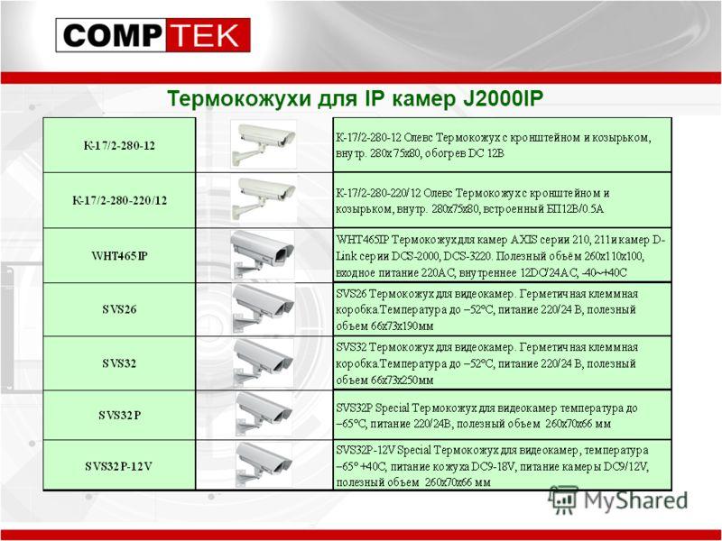 Термокожухи для IP камер J2000IP