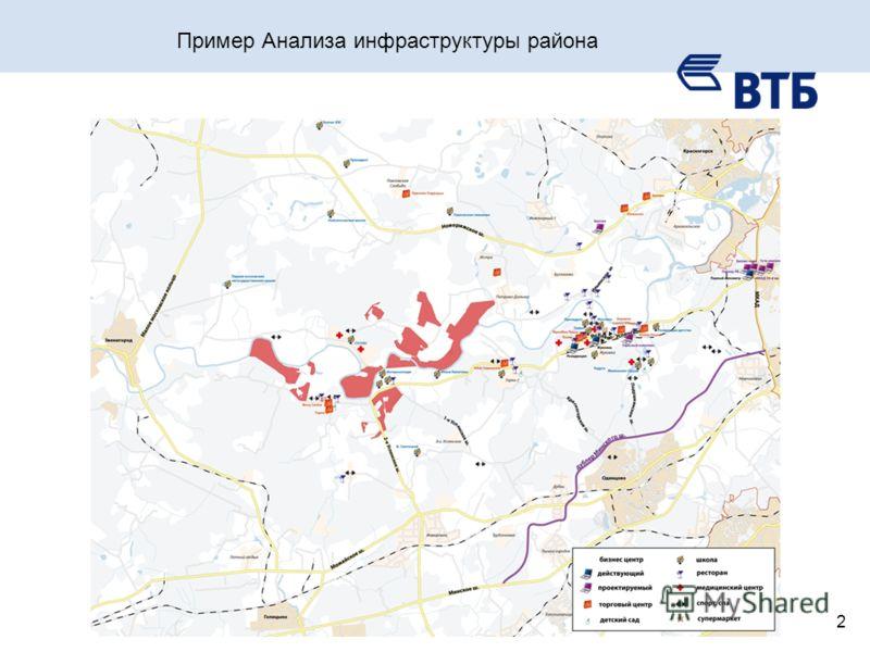 2 Пример Анализа инфраструктуры района