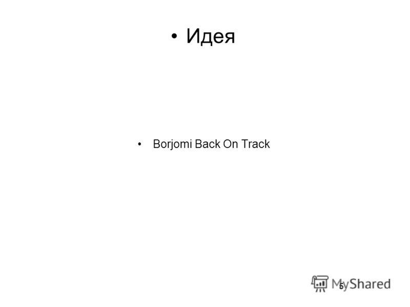 5 Идея Borjomi Back On Track 5
