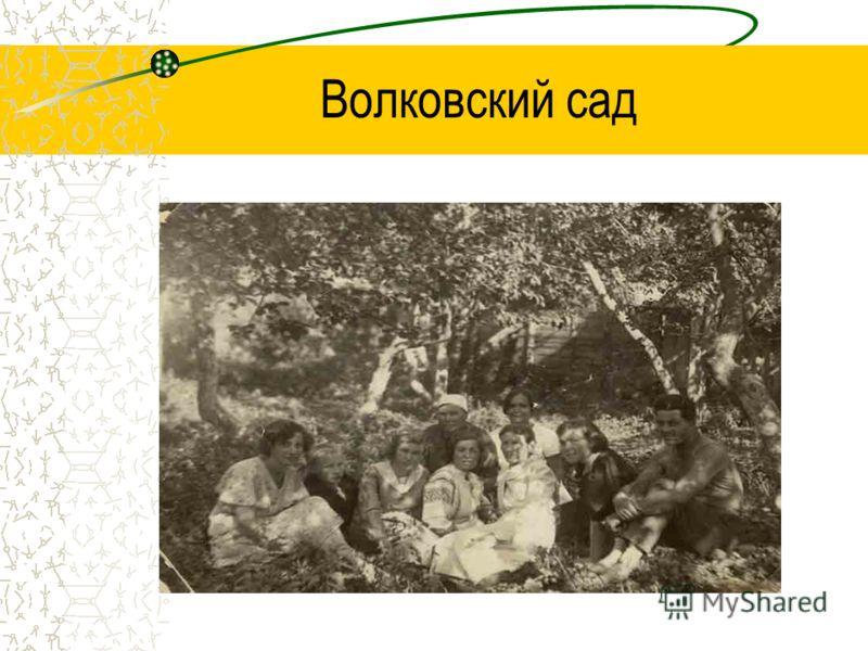 Волковский сад