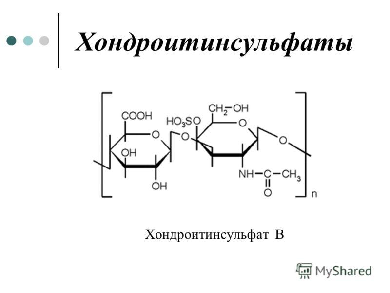 Хондроитинсульфаты Хондроитинсульфат В