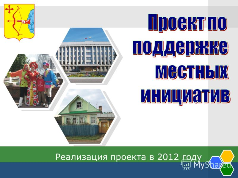 Реализация проекта в 2012 году