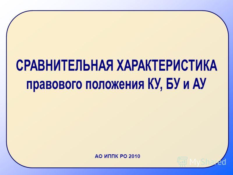 АО ИППК РО 2010