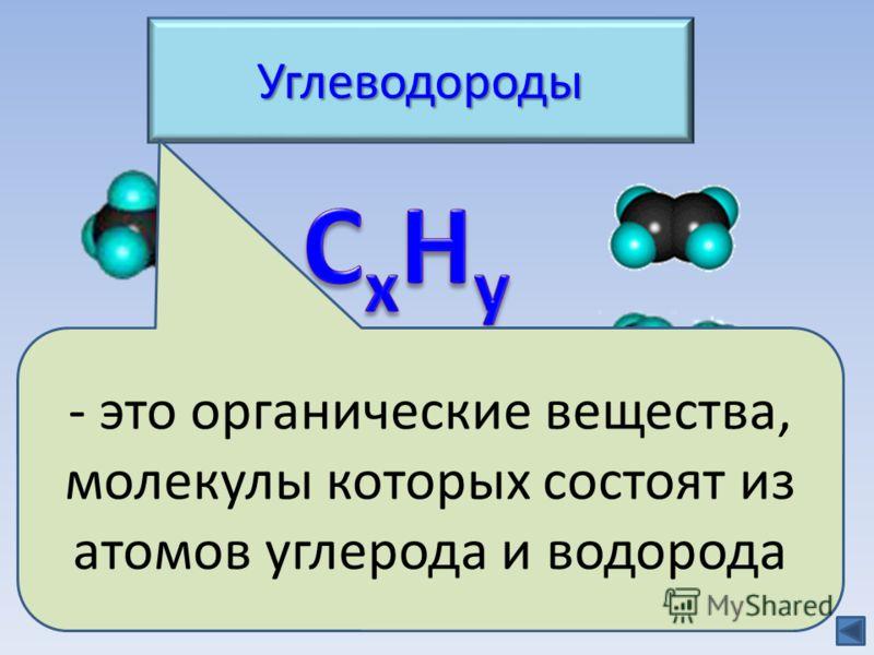 Углеводороды Классификация Природные источники Природные источники - это органические вещества, молекулы которых состоят из атомов углерода и водорода